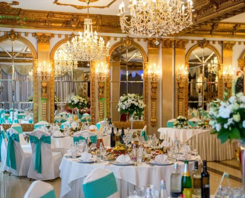 Mirrors in Banquet Hall