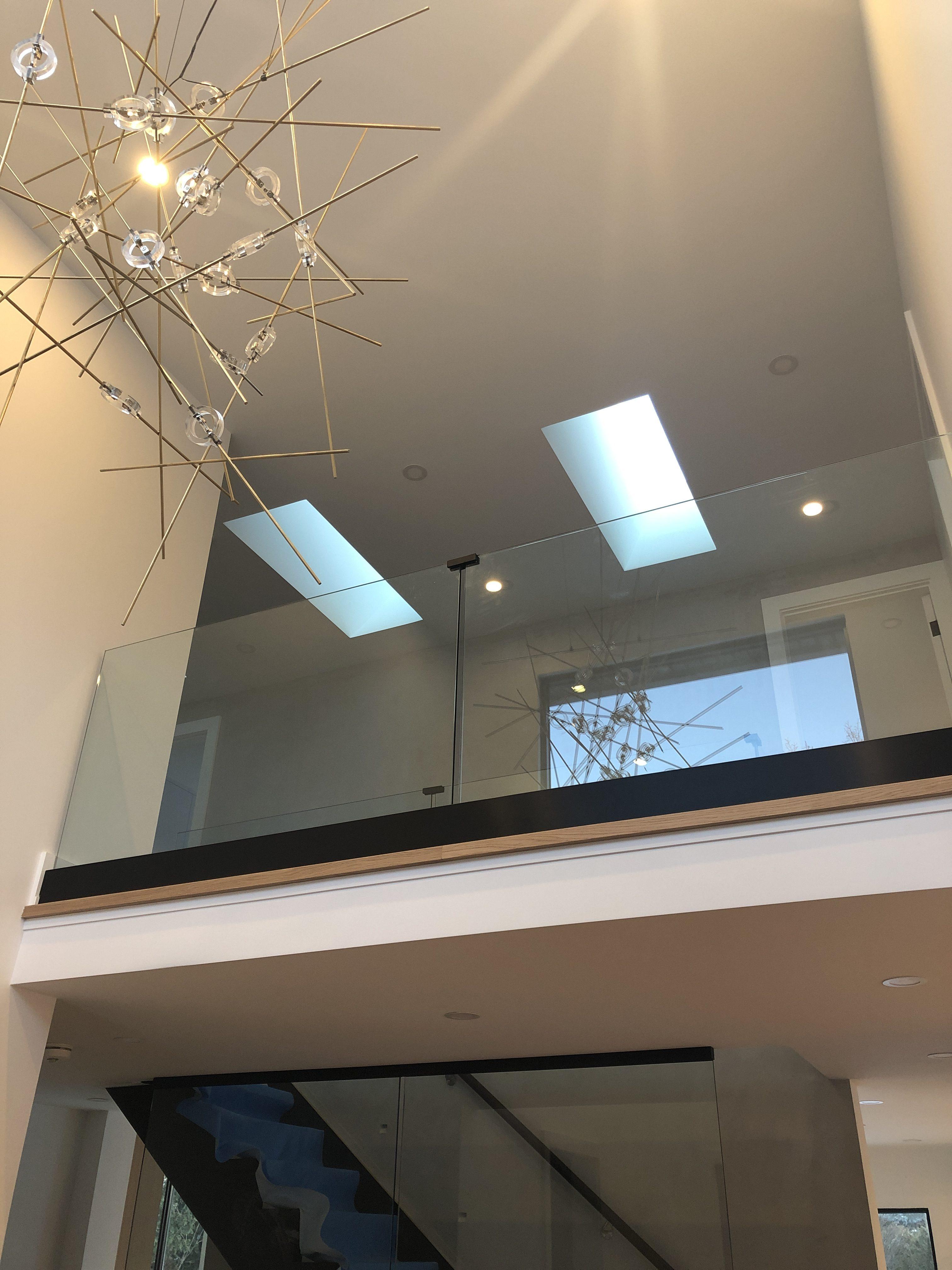 Interior & Glass Stair Railing : Glass Ninja . Get a ...