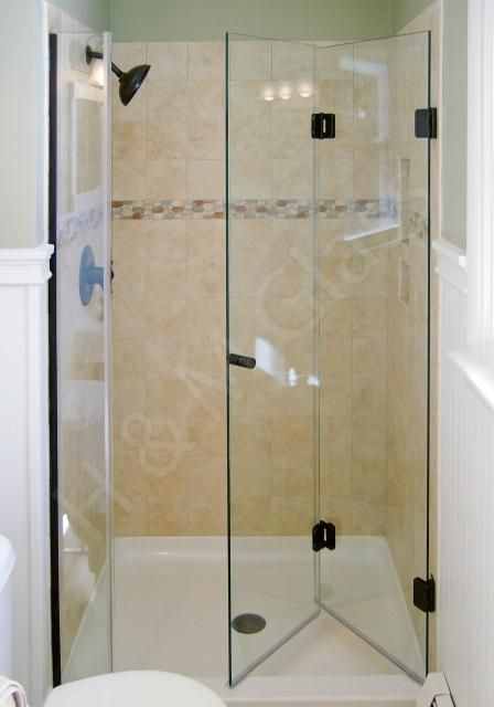 Folding Shower Door & Enclosure : Glass Ninja . Get a ...